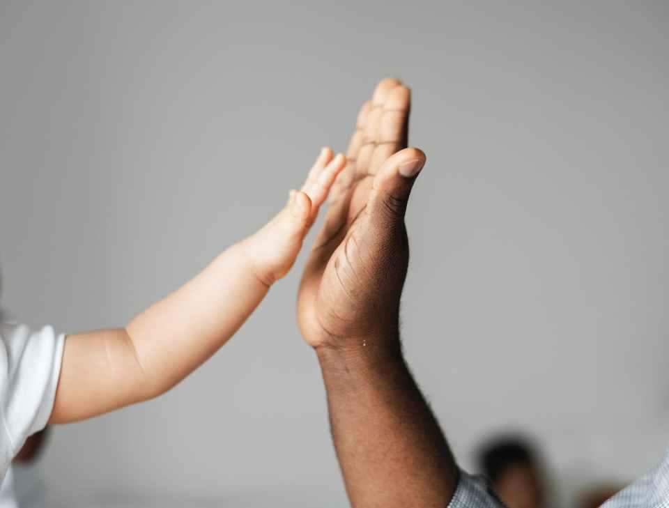 High five, forsegler en avtale