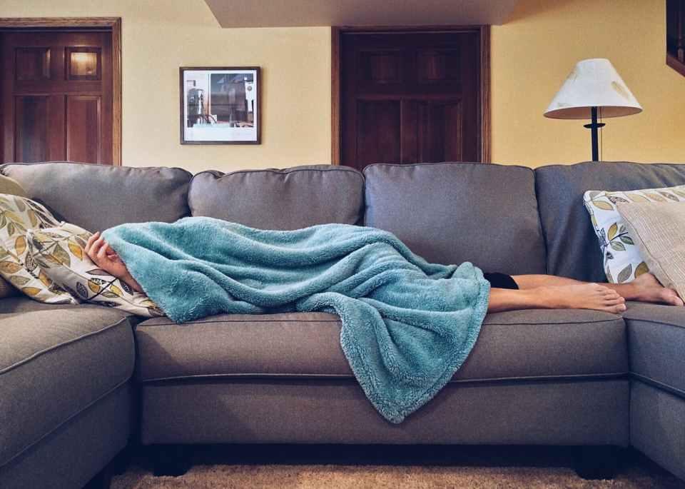 Kroppen trenger hvile ved sykdom